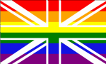Great Britain Rainbow Large Country Flag - 5' x 3'